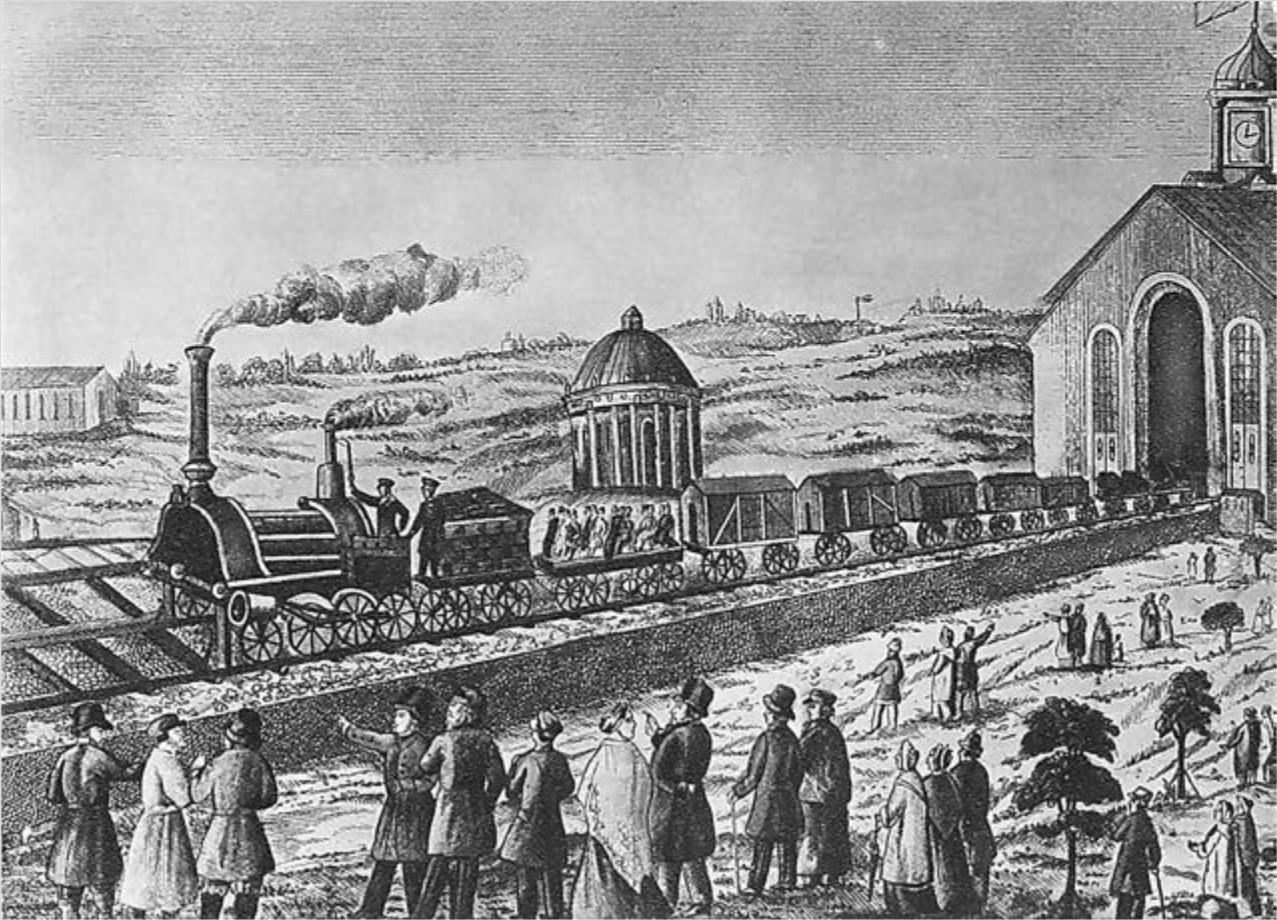 первые железные дороги в россии при каком царе нет