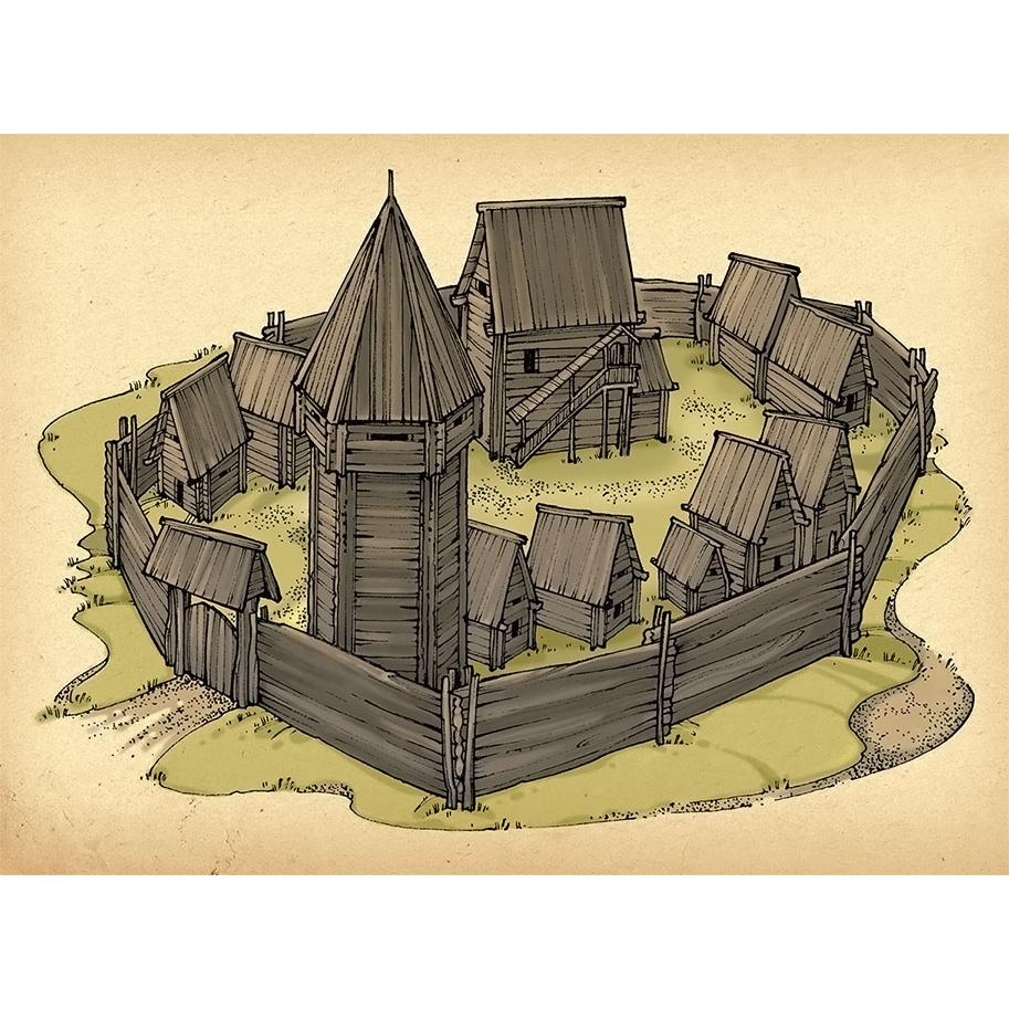 Древнерусские крепости картинки